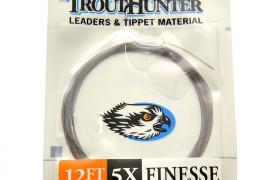 Bas de ligne mouche sans noeud trout hunter finesse leader 12' (3,65 m)