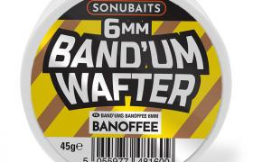 Dumbells équilibrés coup sonubaits band'um wafters 50g banoffee