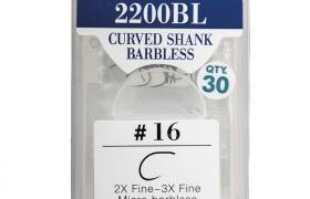 Hameçons mouche varivas curved shank 2200 bl (x30)