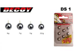 Plomb drop shot carnassier decoy ds1 dropshot
