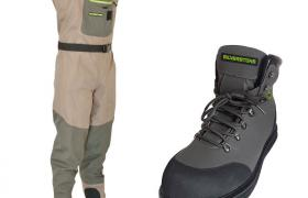 Pack wading silverstone wader easymove sl 3 + chaussures rubber