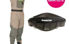 Pack waders respirant silverstone easymove sl3 + ceinture offerte